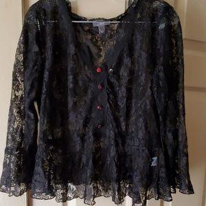 Cute nwot apt 9 lace blouse